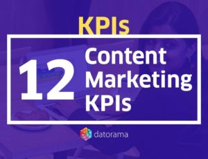 12 content marketing kpis